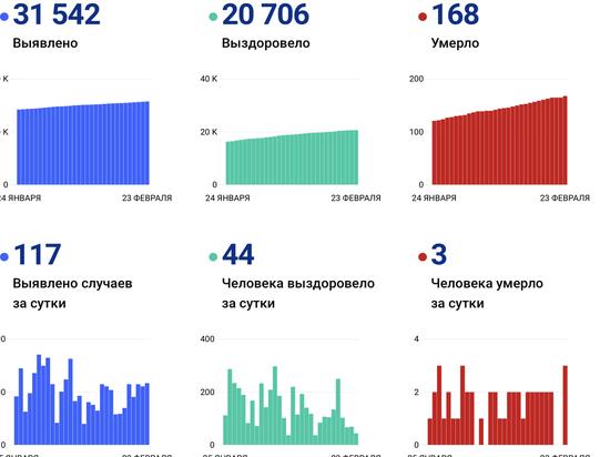 Уже 168 жителей Псковской области скончались из-за коронавируса