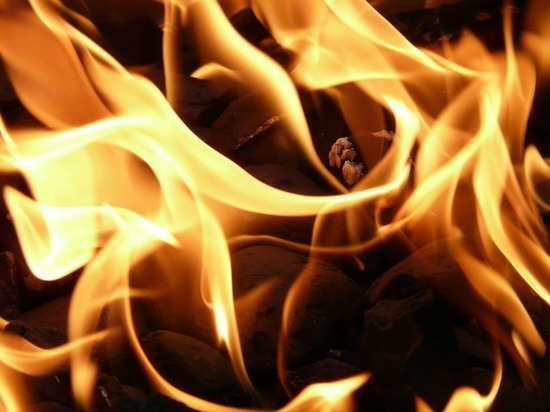 Пожарные спасли женщину-инвалида из горящего дома под Гатчиной