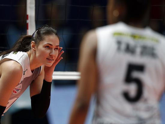 Красноярские волейболистки проиграли действующему чемпиону