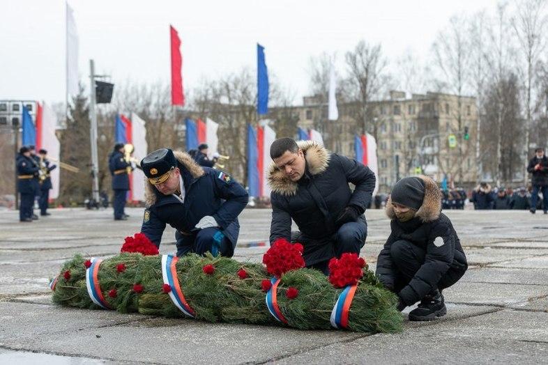 Десантникам вручил награды псковский губернатор, фото-3
