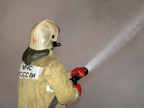 Пожар в Смоленском районе испортил праздничное настроение смолян