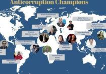 Как сообщается на сайте Госдепа США, администрация президента Байдена продолжит борьбу с коррупцией по всему миру, поскольку она подрывает доверие граждан к своим государственным учреждениям и не дает возможность развивающимся странам двигаться вперед