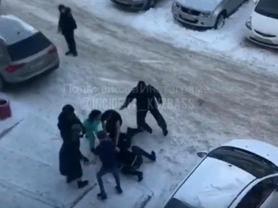 В Кемерове произошла массовая драка между рабочими и местными жителями