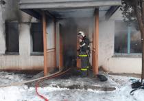 В Башкирии случился пожар в общежитии: спасены девять человек