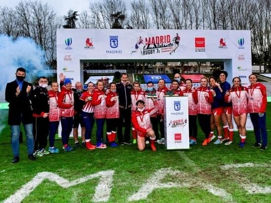 Красноярские регбистки выиграли международный турнир в Испании
