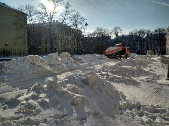 Снегопад заставил Петербург вспомнить о старых проблемах