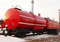 В Удмуртии 23 февраля загорелся поезд
