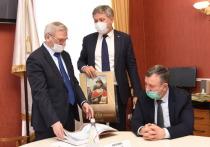 Евгений Люлин встретился с представителями ветеранских организаций