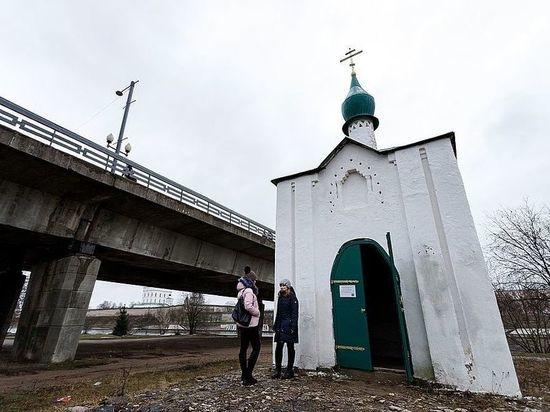 Анастасиевскую часовню хотят перенести из-за капремонта моста в Пскове
