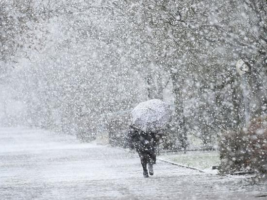 В Тверской области ожидается сильный снег