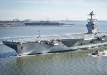 В Пентагоне разочарованы ситуацией вокруг авианесущего флота США