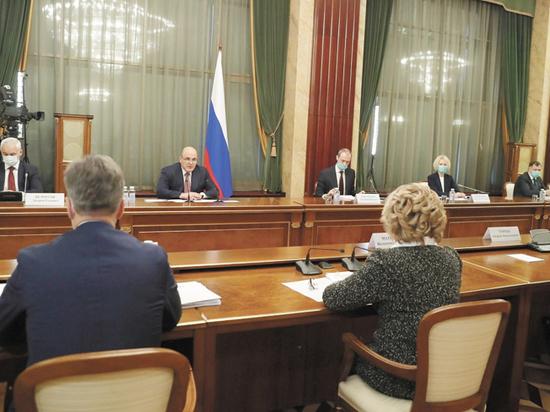 Премьер рассказал сенаторам о новых мерах поддержки бизнеса