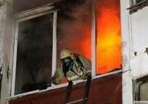 В Ивановской области загорелась квартира - есть пострадавший