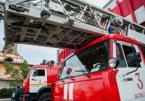 В Астрахани на пожарах снова пострадали люди