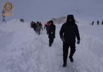 Кадыров показал буйство стихии на курорте Кезеной-Ам