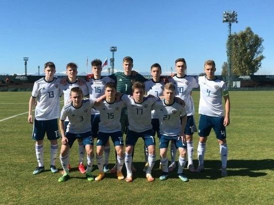 Футболист из Калуги забил гол в составе сборной РФ