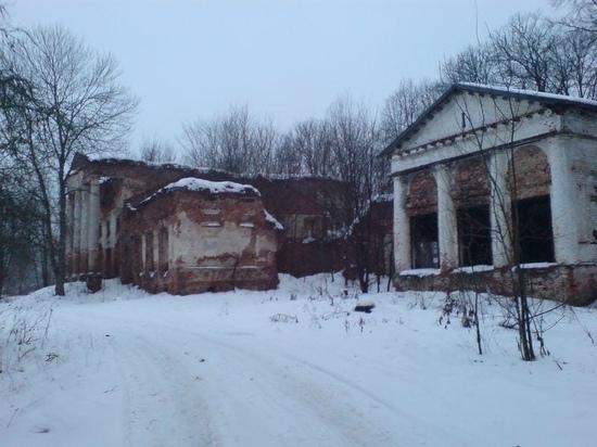 В Оленинском МО восстанавливают историческую усадьбу