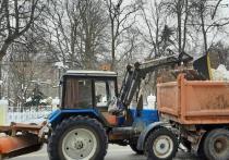 За сутки с рязанских улиц вывезли более 4,5 тысяч кубометров снега