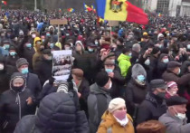 Молдавские политики хотят войти в парламент по трупам