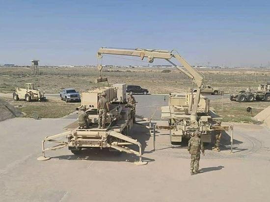 В Заевфратье появились американские противоракетные комплексы Patriot