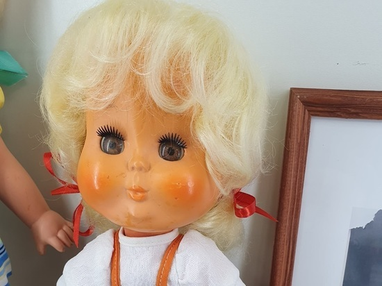 В обновленной экспозиции одоевского музея советской игрушки выставлены уникальные экспонаты – прототипы кукол, разработанные местным художником, Николаем Денисовым