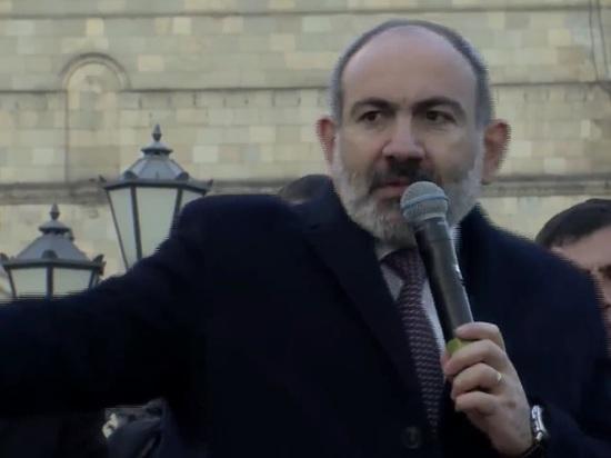 Пашинян призвал расстрелять себя на площади в Ереване