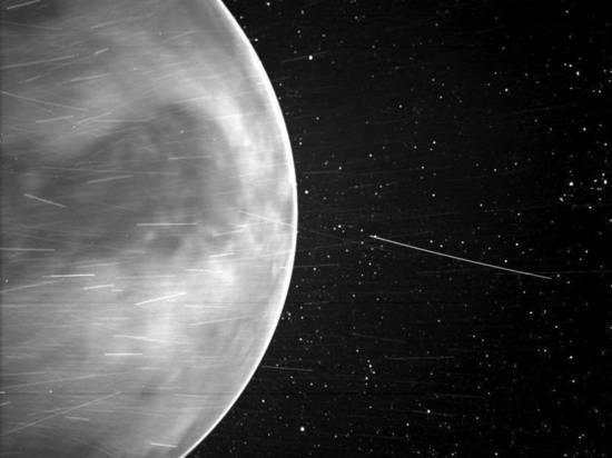 Солнечный зонд Parker впервые запечатлел ночное свечение Венеры
