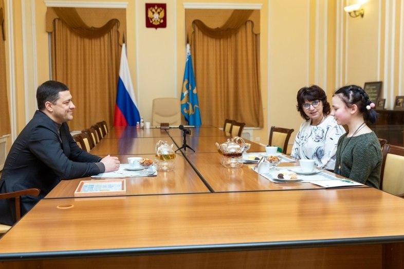 12-летней псковичке губернатор подарил билет на концерт Егора Крида , фото-3