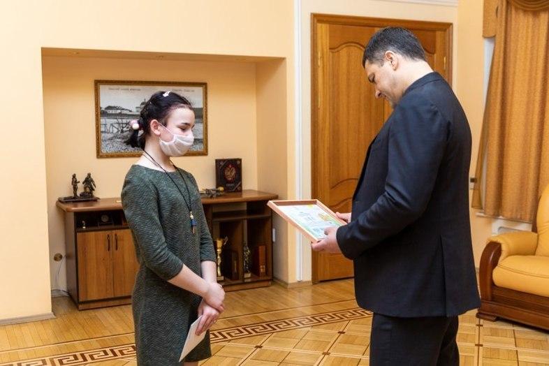 12-летней псковичке губернатор подарил билет на концерт Егора Крида , фото-4