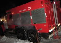 Ночью в Ивановской области сгорел большой дом с пристройками