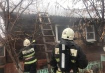 В Астрахани на пожаре обнаружили погибшего