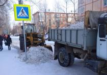 Мэрия Омска сама попросила жителей города указать самые большие снежные колеи