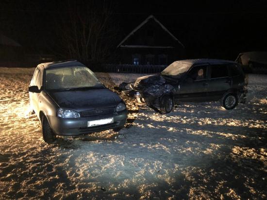 В аварии в Рязанской области погибла женщина-водитель