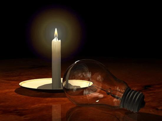Жители Твери жалуются на остутствие света в разных районах города