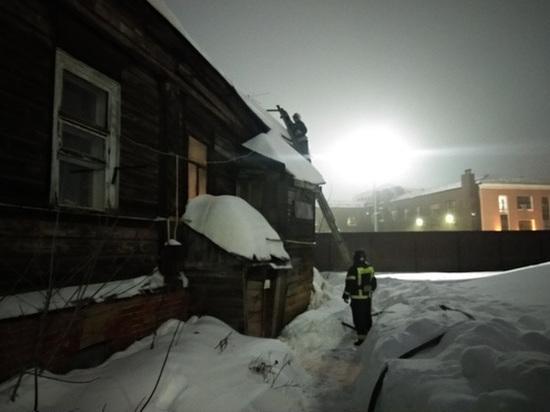 Четыре человека были эвакуированы при пожаре во Владимире сегодня утром