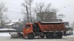 Снежные завалы в Вологде ликвидируют