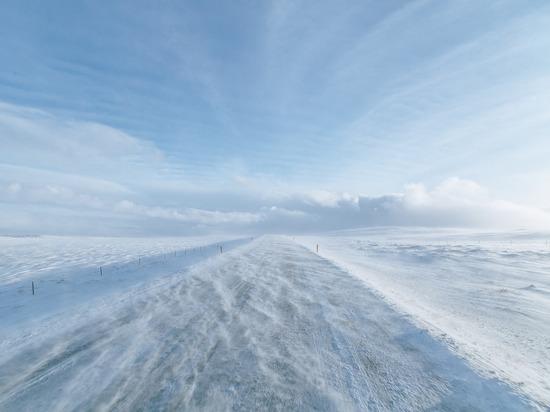 В выходные в Удмуртии будет ветрено и снежно
