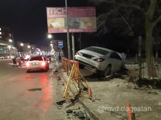 В ДТП в Махачкале пострадали 5 человек
