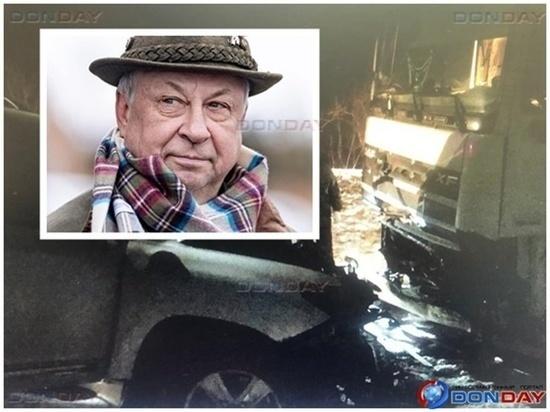 Появились кадры с места автокатастрофы, в которой погиб муж депутата Госдумы от Ростовской области