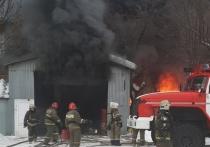 В Иванове горит одно из зданий меланжевого комбината