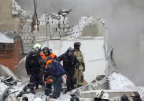 В Нижнем Новгороде на Мещерском бульваре на месте взрыва продолжается разбор завалов