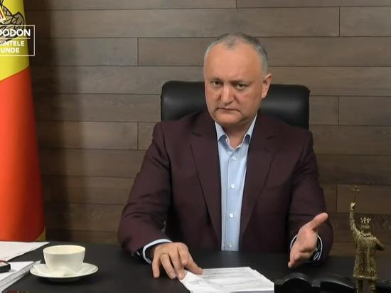 Игорь Додон: Жители Молдовы получат доступ к вакцине «Спутник V»