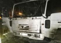 В Иркутске в загоревшемся грузовике погибли двое мужчин