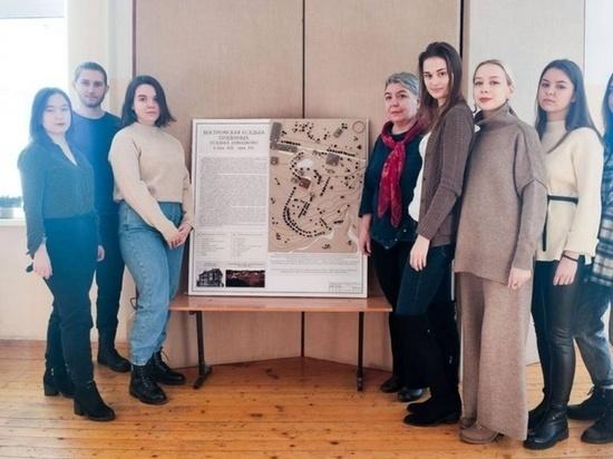 Студенты Костромской сельхозакадемии создали макет усадьбы Пушкиных