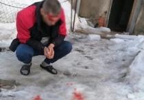 Упавшая с крыши глыба льда разбила голову рязанцу