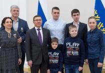 11 тюменцев получили государственные награды из рук Владимира Якушева