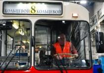 Ретро-троллейбус готовится к выходу в первый рейс во Владимире