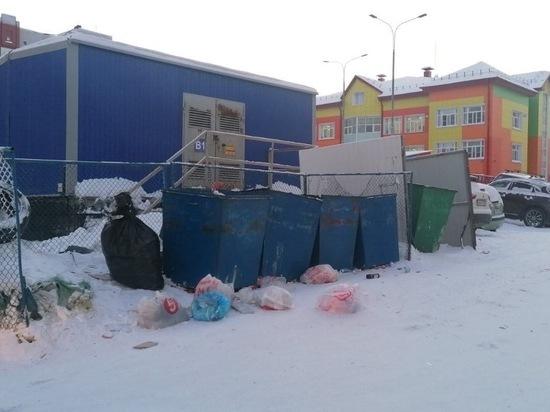 Компании Нового Уренгоя грозят миллионные штрафы за заваленные мусором площадки