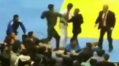 В Дагестане соревнования по дзюдо закончились массовой дракой