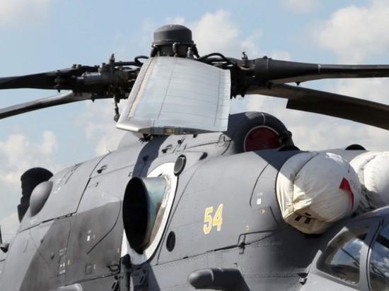Российский Ми-35 в Сирии вынужденно сел из-за неисправности